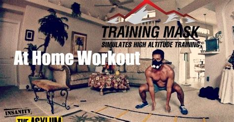 mask at home workout asylum vertical plyo