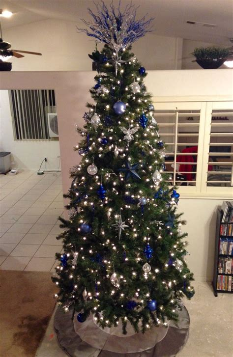 light blue navy blue and christmas trees on pinterest