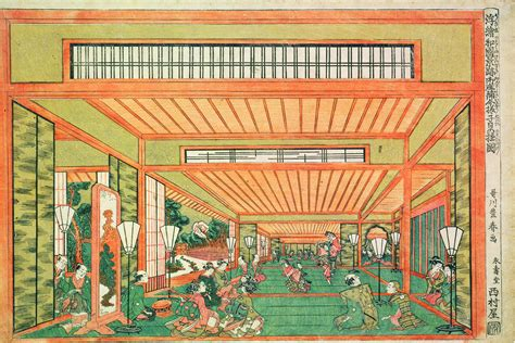 frank lloyd wright prints wright and the architecture of japanese prints hammer museum