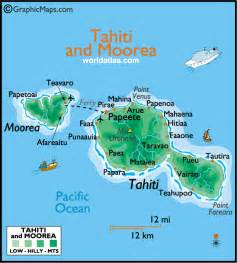 Tahiti Map Of World by Gallery For Gt Tahiti Islands Map