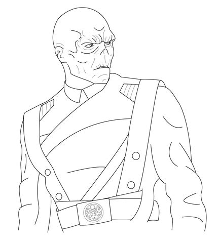 red skull coloring page supercoloring com