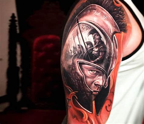 achilles tattoo achilles by arlo tattoos best tattoos