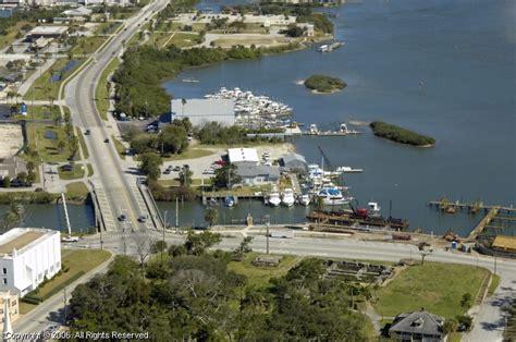 boat dock florida boat dock marine in new smyrna beach florida united states