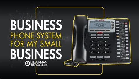do i need a business phone system for my small business