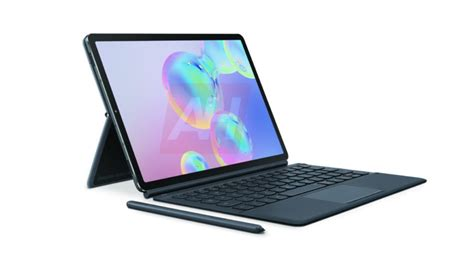 Samsung Galaxy Tab S6 2020 by Samsung Galaxy Tab S6 Leaks Out In New Renders Android Authority
