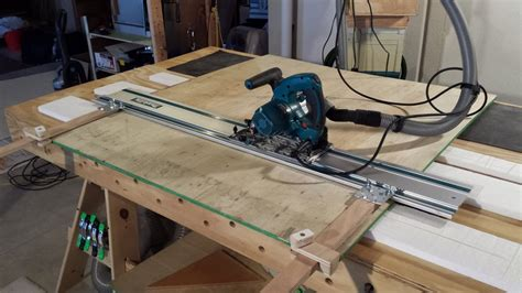 festool woodworking projects 5 00 shop made festool parallel guide by jzbowmannz