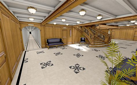 Pictures Of Titanic On Floor by C Deck Middle Corridors Image Mafia Titanic Mod For Mafia The City Of Lost Heaven Mod Db