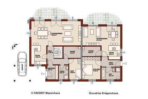 2 schlafzimmer haus pläne mit angeschlossener garage haus premium 165 71 hausbau preise