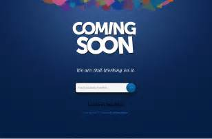 Coming Soon Template by 30 Free Html5 Website Construction Coming Soon
