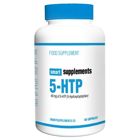 5 Htp Also Search For 5 Htp 40mg 60 Caps Smart Supplements Masmusculo
