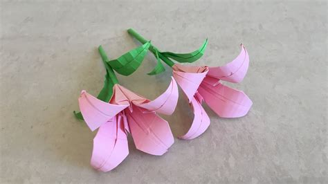 How To Make Paper Lilies - origami crepe paper calla lia griffith paper