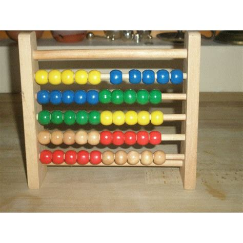 bead counting frame child s wooden bead abacus counting frame educational