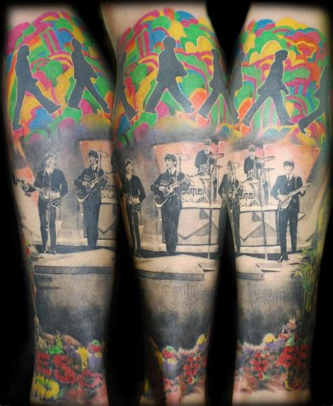 beatles tattoos 31 best beatles tattoos images on beatles