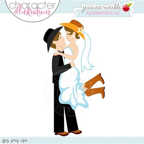 Western Wedding Clipart by Free Western Wedding Clipart 15