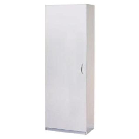 closetmaid 24 inch wide laminate pantry cabinet closetmaid 72 in h x 24 in w x 15 25 in d laminate