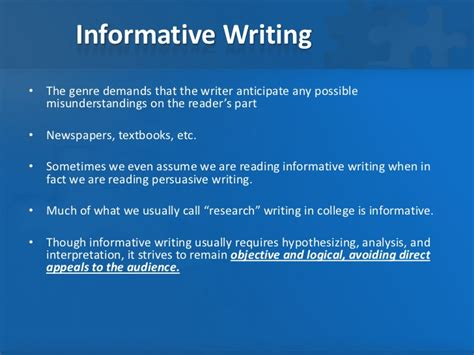 What Is An Informative Essay by The Informative Essay
