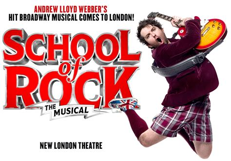 school house rock musical school of rock the musical shows really useful theatres