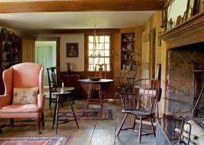 18th Century Home Decor collection of early american furniture adds to the ambience of what