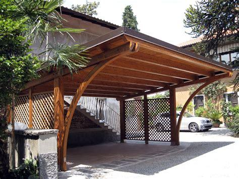 costruire tettoia legno auto tettoia per auto in legno lamellare r02110