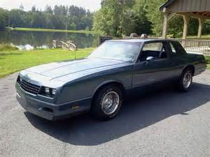 buy used 84 monte carlo ss one owner dual exhast cold