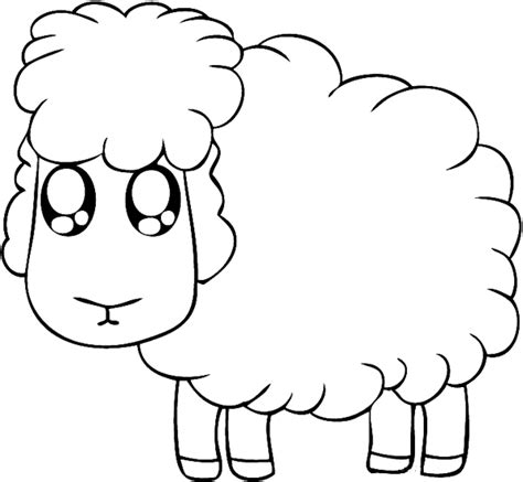color sheep free coloring pages of to draw sheep