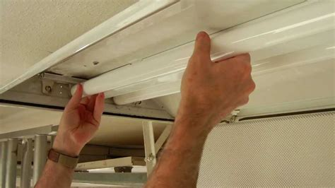 How To Change Out Fluorescent Light Fixture How To Install A T8 Electronic Fluorescent Ballast In An Magnetic T12 Ballast Fixture
