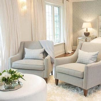 sitting chairs for bedroom white and grey bedroom with white tufted sofa