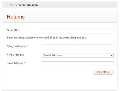 rma request form template how to set up the magento enterprise rma system