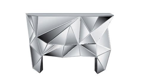 kommode mit spiegel prisma komplett verspiegelt kare design - Kommode Mit Spiegel