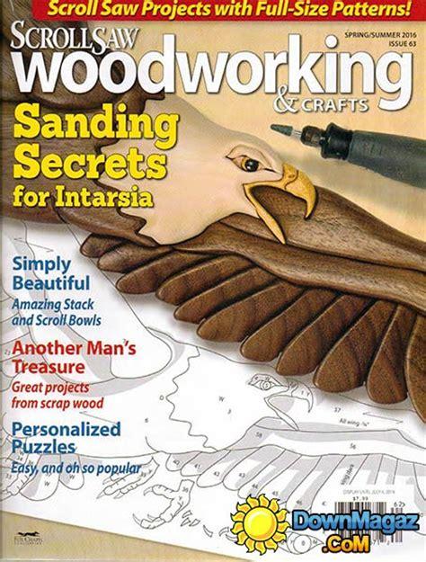 scroll saw woodworking magazine scrollsaw woodworking crafts n 63 summer 2016