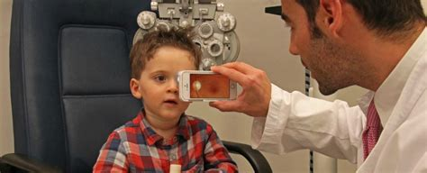 smartphone attachment  perform eye exams