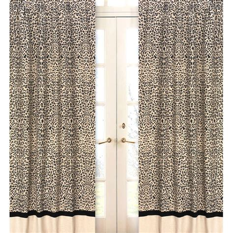 5 leopard curtain styles design ideas