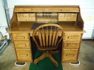 1980 roll top desk roll top desk office chair solid oak wood by winners only