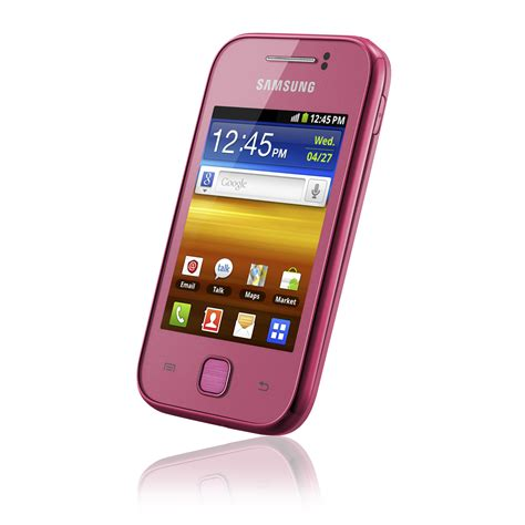 Samsung Galaxy Y S5360 by Samsung Galaxy Y S5360 Android Puhelin Pinkki Android