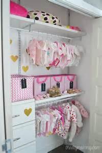 baby garderobe an organized baby closet with closetmaid shelftrack elite