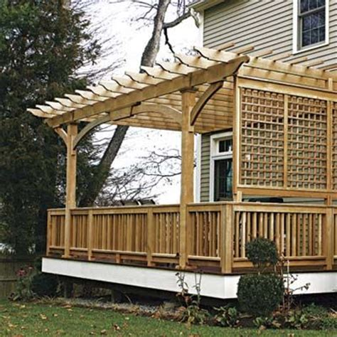 privacy pergola 10 ways to add privacy to your yard patio backyards and
