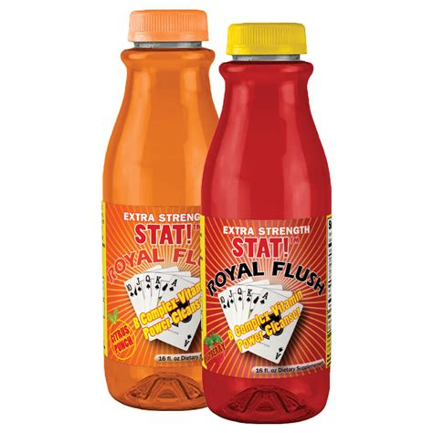 Fast Flush Detox by Fast Detox Drink Stat Royal Flush Liquid Detox