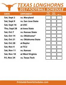 Ut Schedule 5534 Best Images About I The Longhorns On