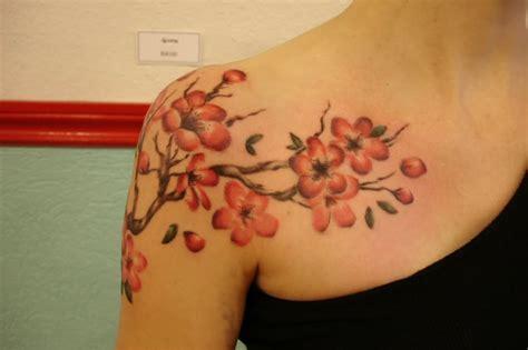 Cherry Blossom Tattoo Photo By Anabarrera83 Photobucket Cherry Blossom Branch Meaning