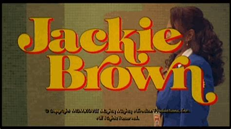 film realise par quentin tarantino jackie brown r 233 alis 233 par quentin tarantino 1997 on