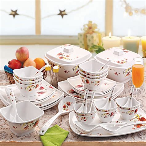 dinner set 40 pc dinner set melamine gd 101123 corporate gifts