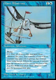 l albatro testo albatro gigante albatross magic the gathering