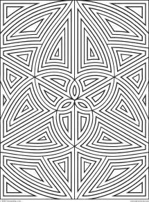 free geometric coloring pages art category image 8