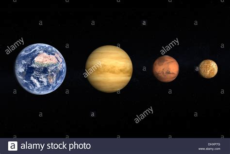 Mars Venus a comparison between the planets earth venus mars and