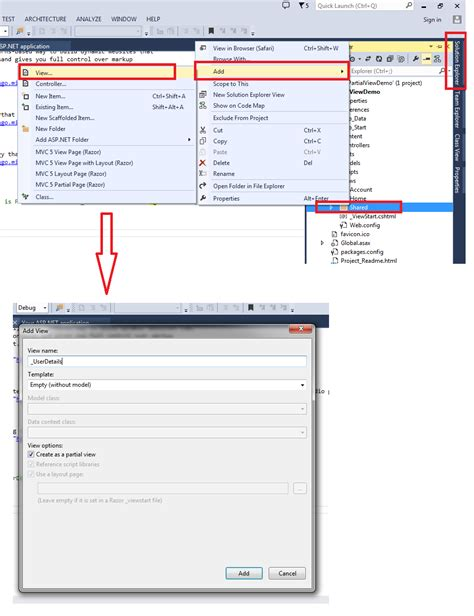 how to render partial view in layout mvc 4 jaw jquery asp net mvc wcf create and render partial