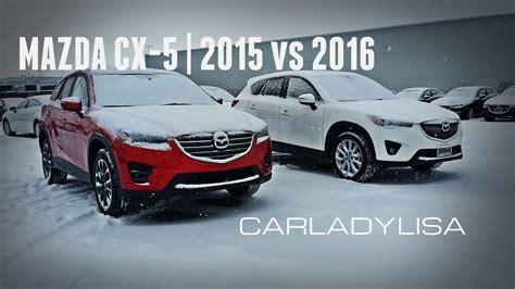 2014 mazda cx 5 vs 2015 mazda cx 5 mazda cx 5 gt 2015 vs 2016 model changes