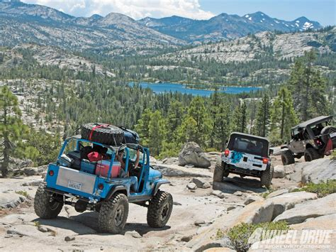 rubicon trail jeep momma a slightly different view of the