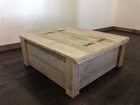 salontafel kist steigerhout mexicaanse kist salontafel rustiek van oud steigerhout