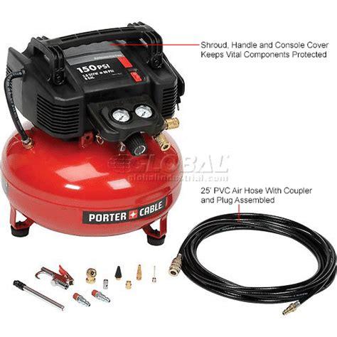 air compressors accessories portable air compressors porter cable 174 c2002 wk 0 8 hp