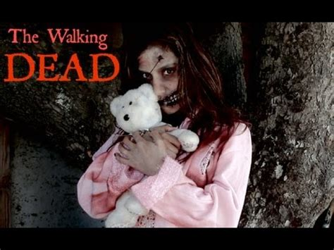 tutorial zombie the walking dead the walking dead zombie little girl tutorial youtube